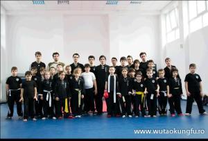 Clubul Wutao-antrenament-simulare pt.competitia de Qingda