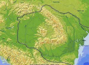 Romania veche si mare
