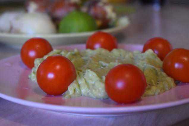 guacamole pentru bebelusi si copii